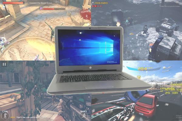 HP 14 an017au 10