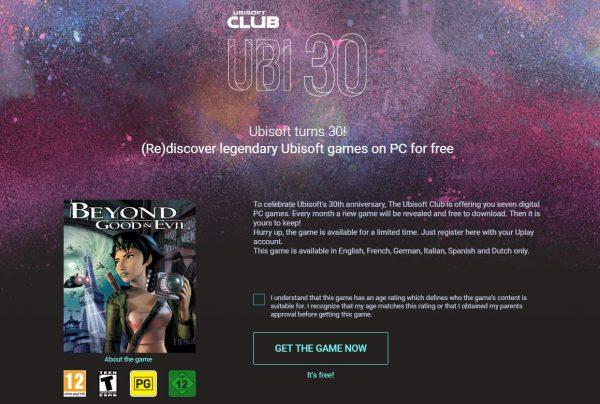 Anda bisa mengunduh Beyond Good & Evil secara gratis via Uplay sekarang!