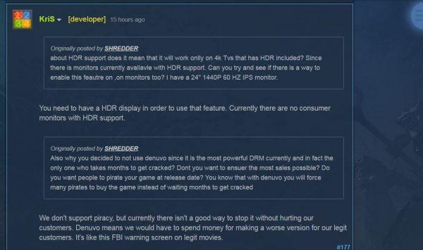 Dev. Shadow Warrior 2 tak tertarik menggunakan Denuvo dan menyebut sistem anti-bajakan tersebut justru akan mencederai konsumen mereka.