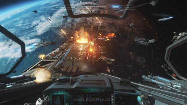 Berhasil selamat dan memukul mundur mereka, sistem pertahanan bumi kini hanya bergantung pada dua kapal induk - Tigris dan Retribution.
