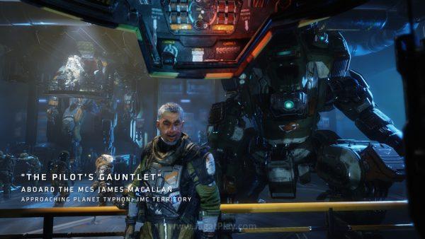 Anda berperan sebagai prajurit biasa - Jack Cooper yang dilatih oleh pilot Titan ternama - Lastimosa.
