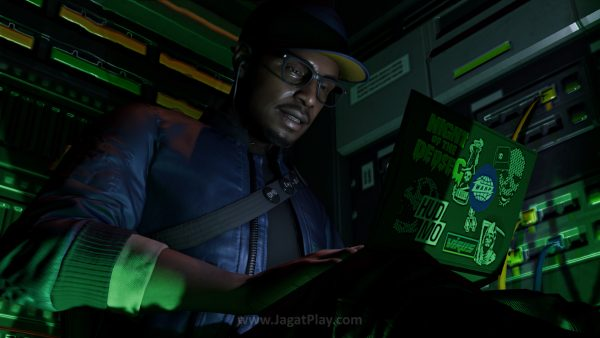 Anda akan berperan sebagai Marcus Holloway, seorang hacker yang punya masalah