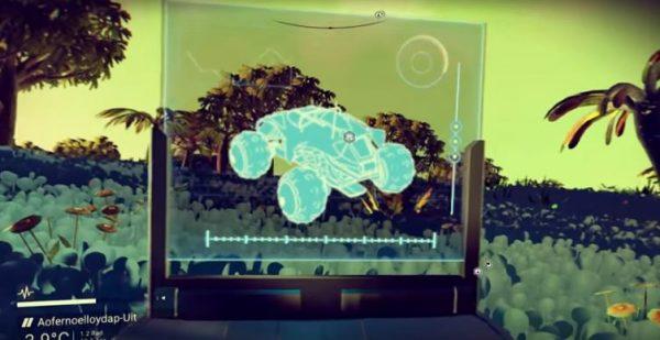 Mengotak-ngatik file update terbaru No Man's Sky memperlihatkan rencana untuk kehadiran sebuah kendaraan darat.
