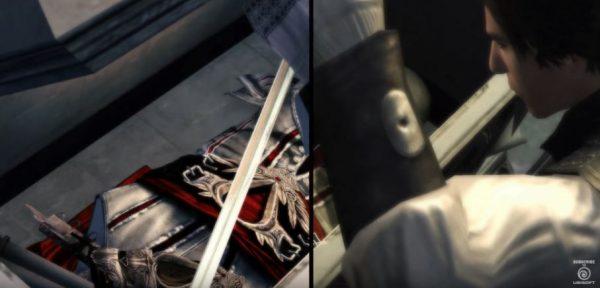 Ubisoft merilis trailer perbandingan untuk Assassin's Creed: The Ezio Collection.