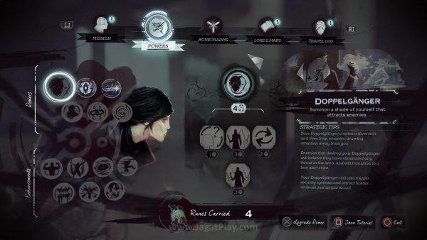 Dengan ragam skill yang ditawarkan, baik Corvo dan Emily akan membuka pintu