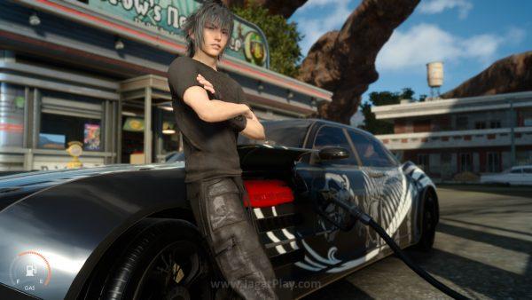 Keluhan soal penyajian cerita FFXV akan diperbaiki Square Enix via update di masa depan.
