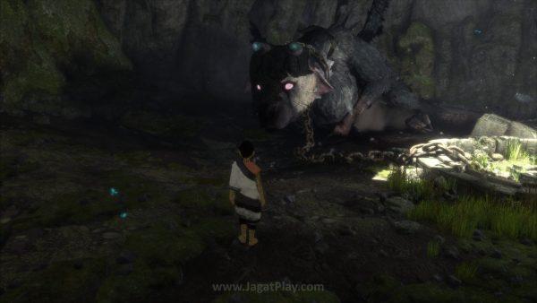 Anda berperan sebagai seorang anak yang terbangun tanpa memori di sebelah binatang raksasa bernama Trico.