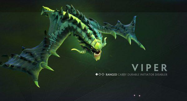 Beberapa model karakter disempurnakan - Enigma, Slardar, dan Viper.