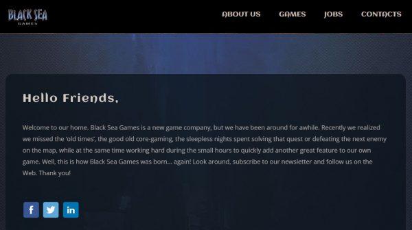 Mantan studio Crytek Black Sea yang ditutup beberapa waktu lalu, bangkit kembali sebagai dev. indie - Black Sea Games.