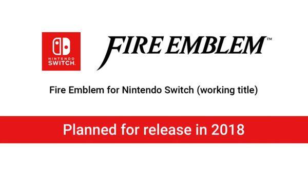 Nintendo tengah mempersiapkan seri terbaru Fire Emblem untuk Switch dengan target rilis 2018 mendatang.