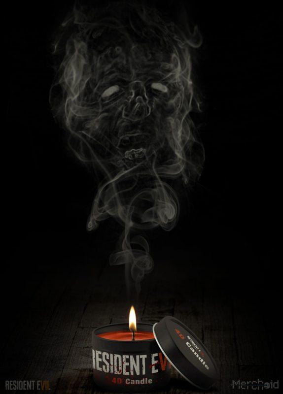 Merchoid merilis sebuah lilin aromatik dengan bau darah untuk membuat pengalaman Resident Evil 7 Anda lebih imersif!