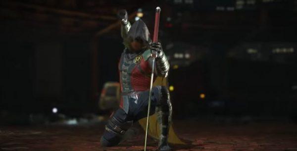 Damian Wayne kini berperan sebagai Robin di Injustice 2.