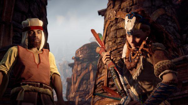 Horizon gagal membuat keterikatan emosional yang kuat di sana, seperti yang dilakukan CD Projekt dengan The Witcher 3. Padahal, pondasi untuk fitur potensial tersebut lewat pilihan respon di percakapan sudah tersedia.