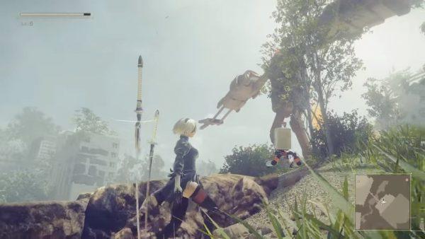 NieR: Automata memperlihatkan gameplay baru berdurasi 29 menit.