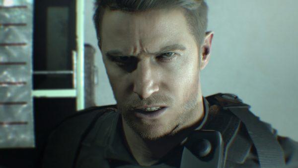 Capcom memastikan bahwa Chris Redfield RE7 adalah Chris Redfield yang sama dengan seri RE selama ini. Ia hanya mengalami perubahan desain signifikan agar terasa cocok dengan RE7.