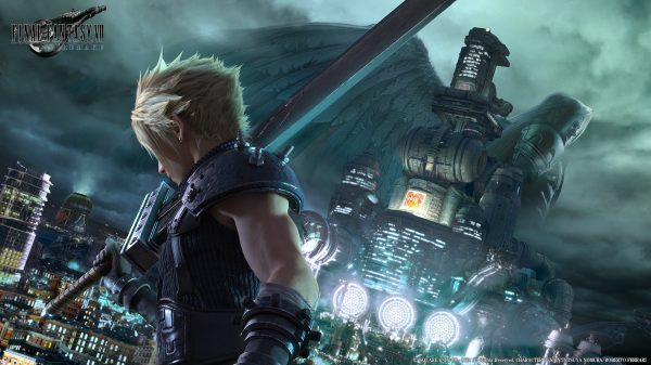 ff vii remake key visual