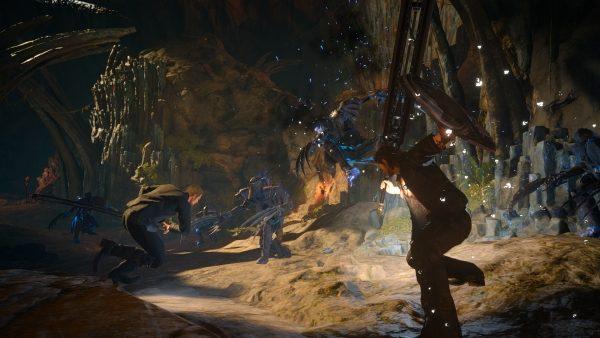 Tabata menyebut bahwa tak lebih dari 70% anggota tim masih mengerjakan FFXV dan berniat untuk mendukung game action RPG ini selama mereka bisa.