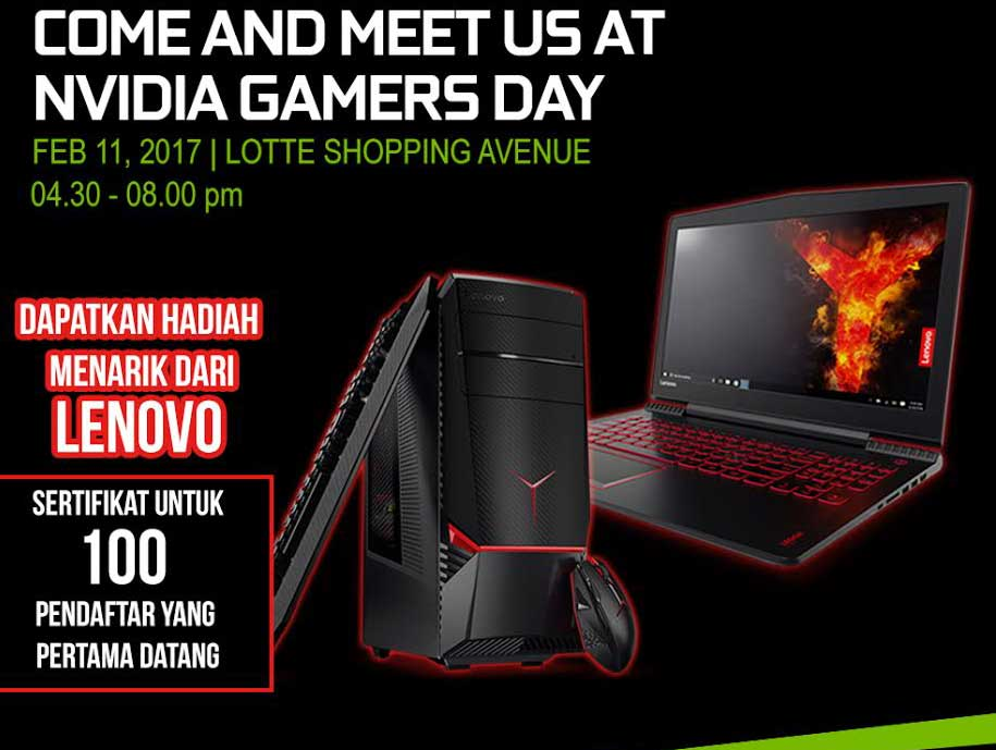nvidia gamers day 1