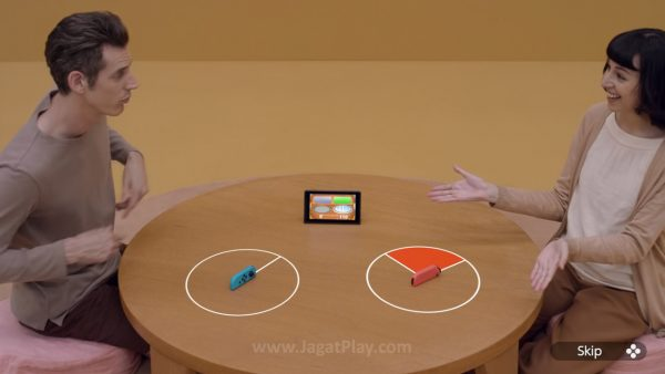 Ia memperlihatkan kemampuan optimal Joy-Con sebagai benda kecil dengan teknologi mumpuni.