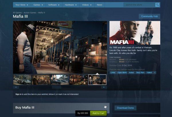 Demo Mafia III untuk ketiga platform rilis, termasuk PC, kini sudah tersedia.