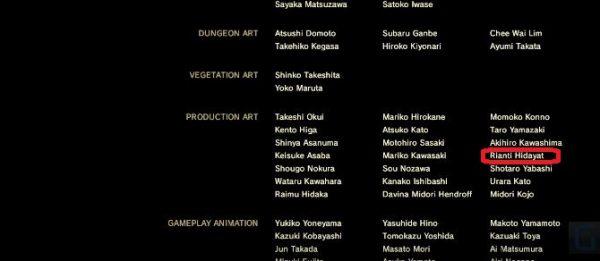 Anda bisa melihat nama orang Indonesia di credits Breath of the Wild.