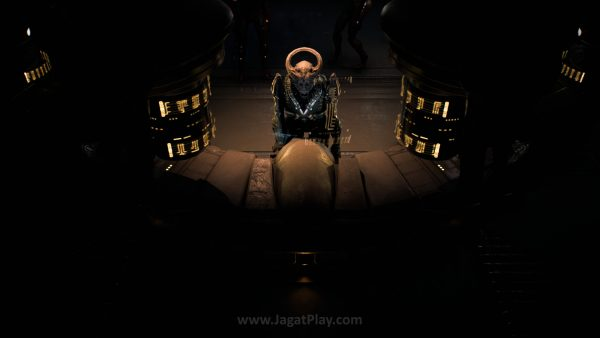 Tokoh antagonis utama bernama Archon dan rasnya - kett juga terlihat tertarik pada Ryder.