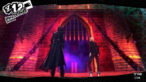 Perjalanan ke sekolah Anda suatu hari membuat Anda berakhir masuk ke dalam sebuah kastil misterius.
