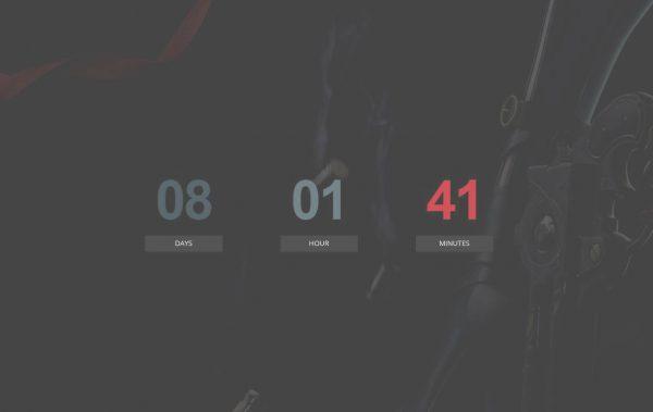SEGA melemparkan teaser resmi dengan sepatu Bayonetta pertama sebagai gambar latar belakang.