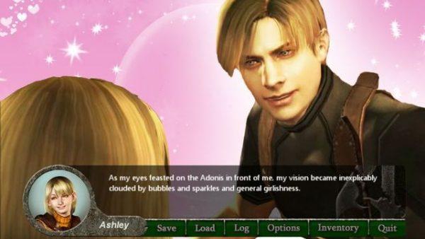 Seorang fans membuat Resident Evil 4 menjadi sebuah game dating sim dari perspektif Ashley.