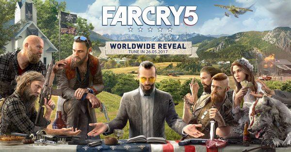 Lewat key art yang dirilis, Far Cry 5 memperlihatkan tokoh antagonis utama.