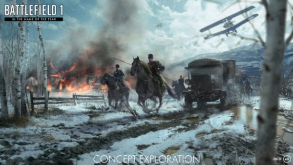Musim dingin sebagai fokus dan kehadiran karakter prajurit wanita akan jadi daya tarik DLC terbaru Battlefield 1 - In the Name of the Tsar.
