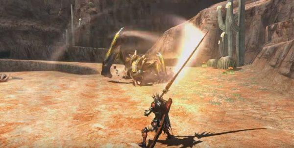 Monster Hunter XX versi Switch memperlihatkan visual yang lebih baik.