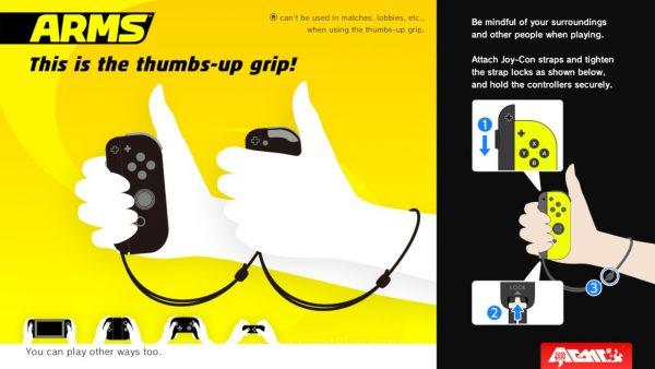 Walaupun bisa dimainkan secara konvensional, memanfaatkan motion-sensor Joy-Con adalah cara terbaik untuk menikmati ARMS.