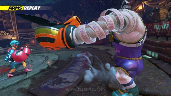 Dengan karakter menarik yang ia miliki, ARMS akan lebih maksimal dengan mode cerita.