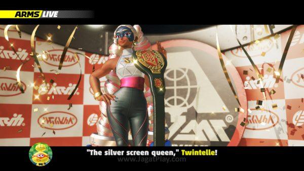 Sedikit latar belakang cerita karakter bisa muncul dari mode GrandPrix yang ada.