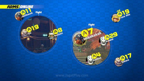 Tak sekedar baris nama saja, ruang multiplayer Anda juga dipresentasikan secara visual.