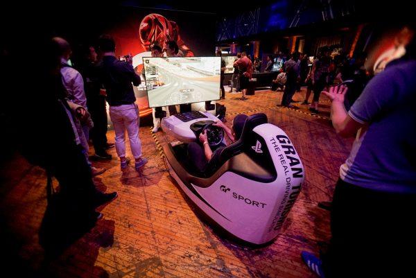 Pod Balap khusus GT Sport, sepertinya ini tidak termasuk dalam paket penjualan GT Sport nantinya.