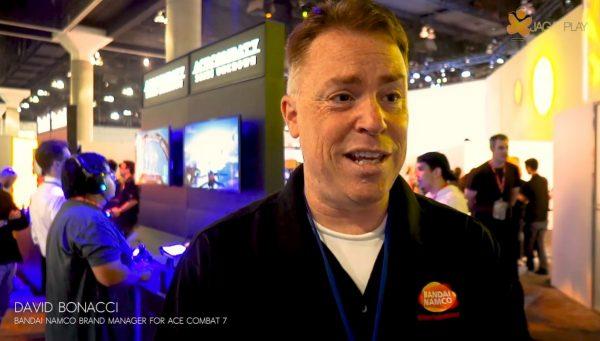 David Bonacci - Brand Manager Bandai Namco (Ace Combat 7)