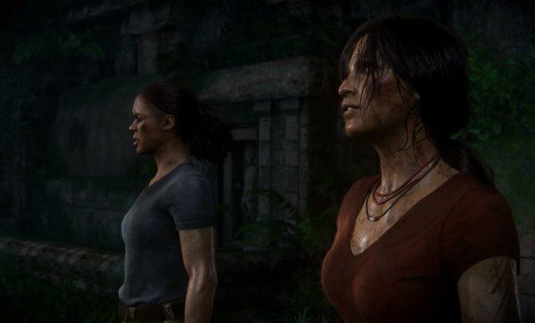Chloe sebagai karakter utama, dan Nadine sebagai NPC. Mirip dengan hubungan Nathan dan Sam di UC4.