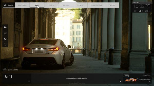 User-interface lebih sederhana dan modern, dengan render in-game engine di bagian tengah. Semoga saja ada Photo Mode di versi final nanti.