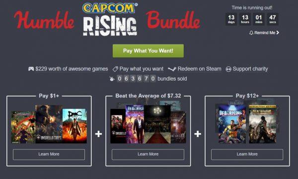 Humble Bundle menawarkan bundle game AAA Capcom dengan harga super terjangkau. Anda bahkan bisa mendapatkan DmC original dengan harga, hanya USD 1.