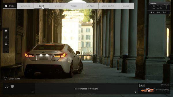 Gran Turismo akan mendapatkan demo 4 hari mulai dari tanggal 9 Oktober 2017.