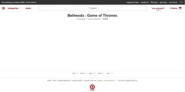 Besar kemungkinan, informasi soal game Game of Thrones dari Bethesda berakhir palsu.