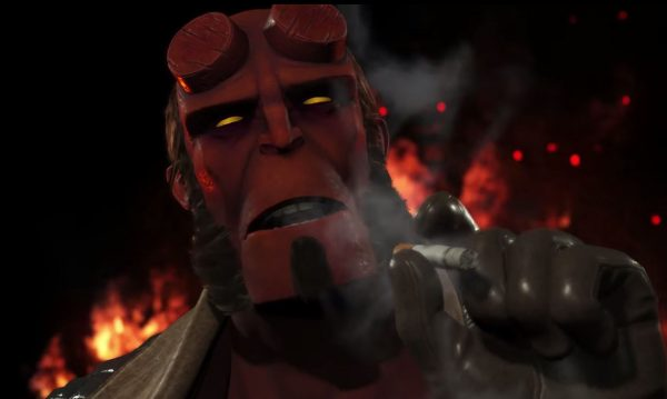 Bersama dengan Raiden dan Black Manta, Hellboy dipastikan bergabung ke Injsutice 2 lewat Fighter Pack 2.