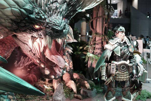 Monster Hunter World TGS 2017