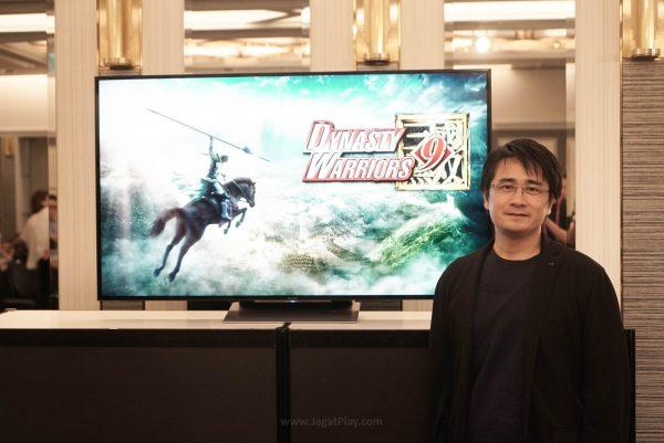 Akihiro Suzuki selaku Produser Dynasty Warrior 9