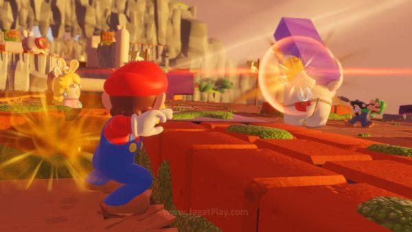 Mario Rabbids Kingdom Battle jagatplay part 1 104