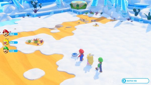 Mario Rabbids Kingdom Battle jagatplay part 1 (225)