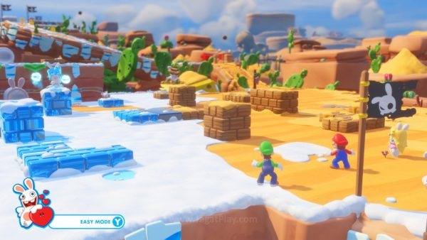 Mario Rabbids Kingdom Battle jagatplay part 1 (256)