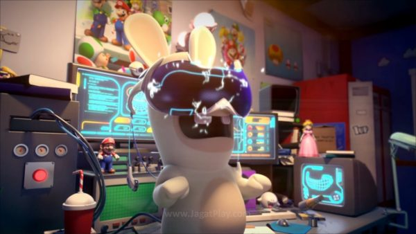 Mario Rabbids Kingdom Battle jagatplay part 1 (6)